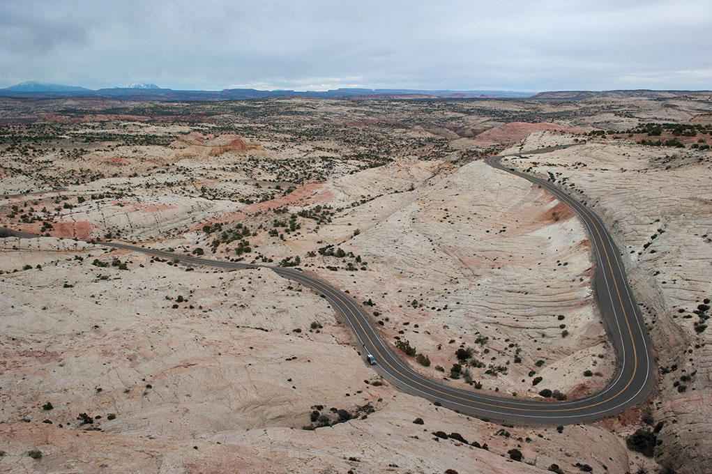 Road in Utah, April 2014